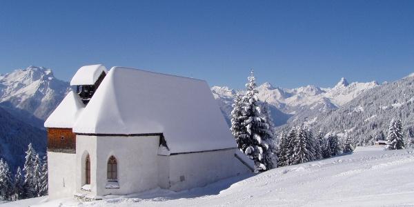 St Agatha Kapelle am Kristberg im Silbertal