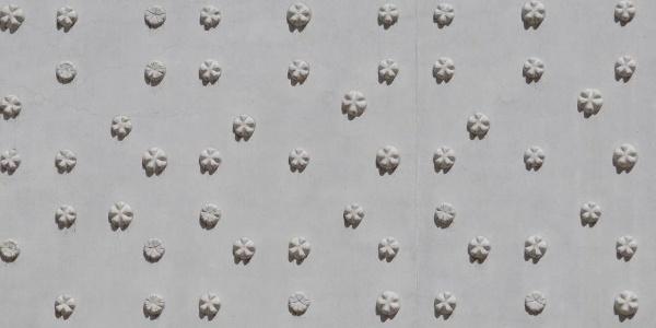 Nahaufnahme der Fassadenwand