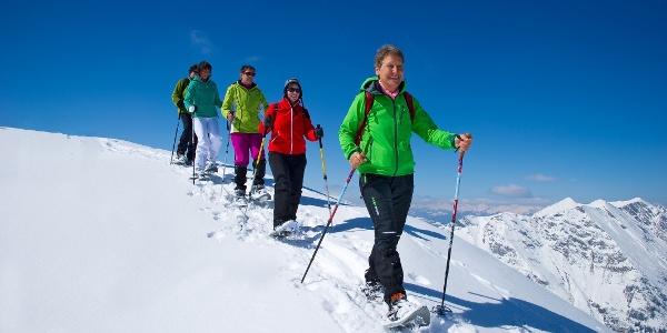 Wintersport im verschneiten Rauris