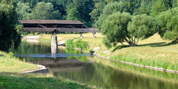 Röhrensteg in Zwickau
