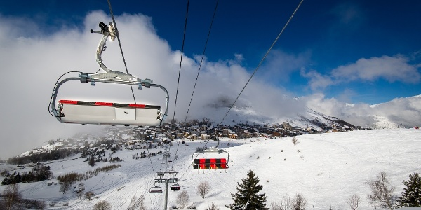 Moderne Liftanlagen in Les 2 Alpes