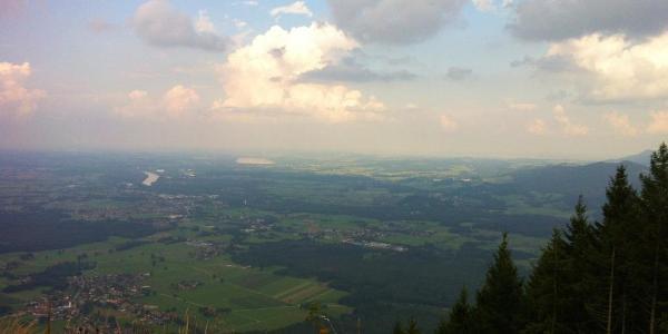Ausblick vom Sulzberg auf Filzen