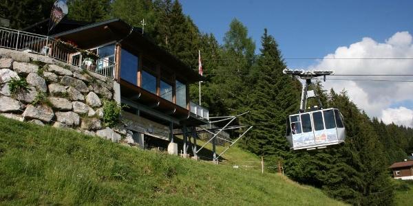 Bergstation Kristbergbahn