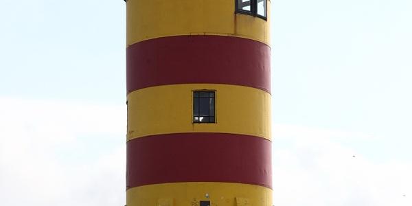Der Pilsumer Leuchtturm.