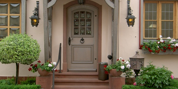 Eingang Gast- und Weinhaus Zur Krone