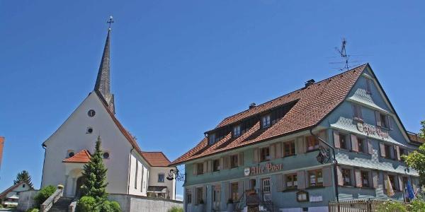Kirche von Hergensweiler