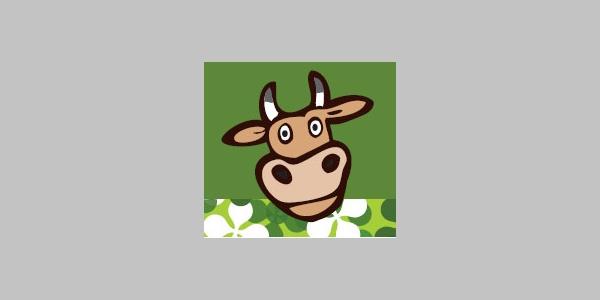 Die Kuh wird euch auf dem Alperlebnispfad begleiten.