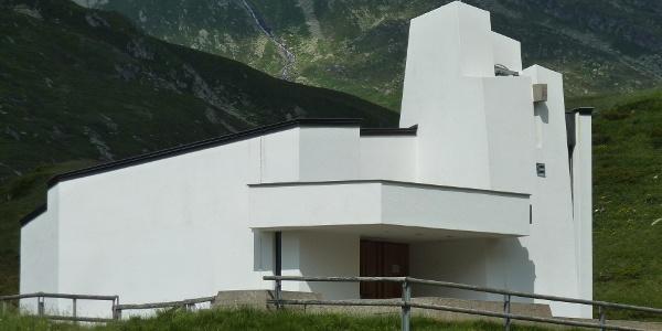 Kapelle am Lukmanierpass