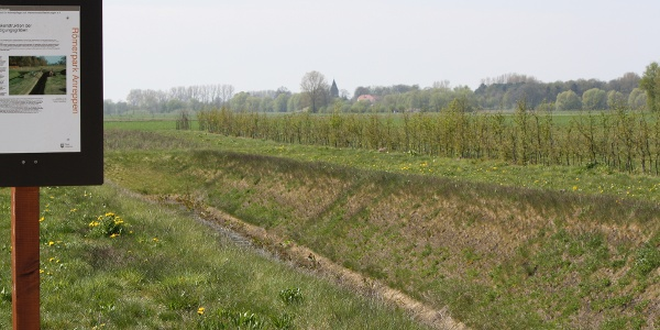 Rekonstruktion des Lagergrabens