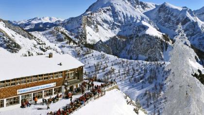 Jenner Bergstation im Winter