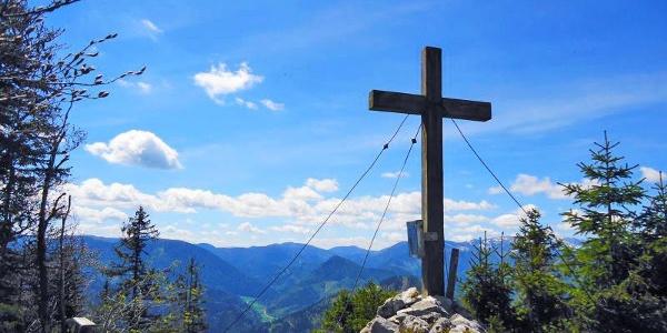 Gipfelkreuz der Sauwand