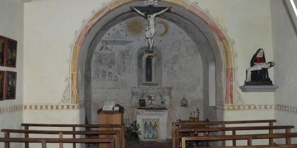 Innenansicht Kapelle St. Wendelin