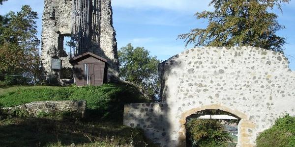Aussichtsplattform auf dem Hohenhewen