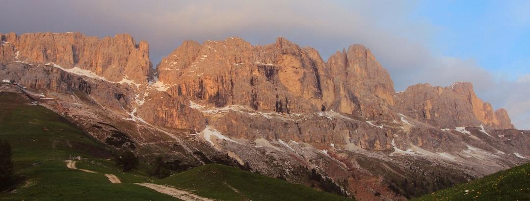 Via Ferrata Klettersteig Marmolada Dolomiten Italien