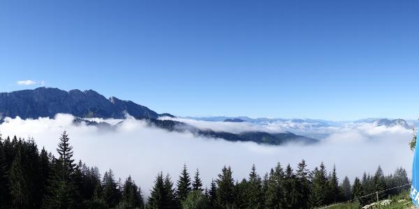 Morgenstimmung an der Voderkaiserfelden-Hütte