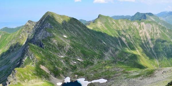 Bergsee am Ende der Tour