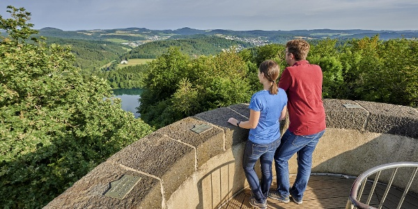 Landschaftsblick vom Dronketurm