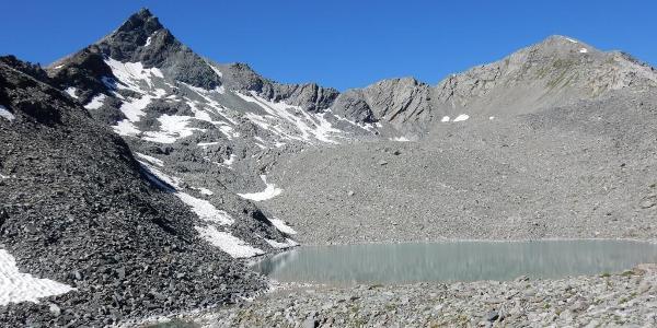 Abstieg vom Mont Rogneux