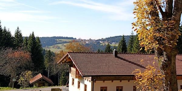 Prellerhaus mit Blick nach Maibrunn
