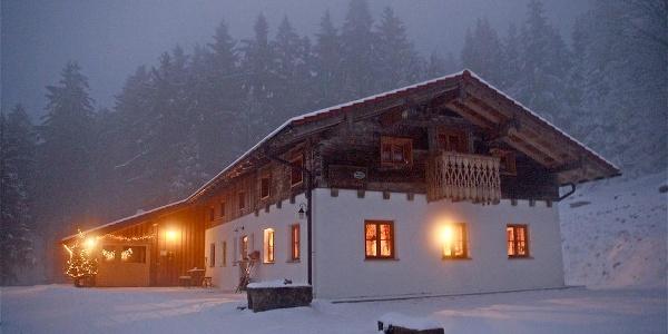 Prellerhaus im Winter