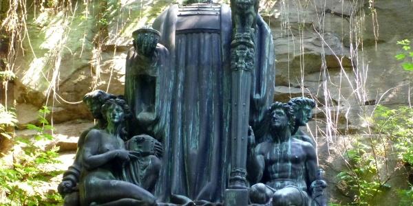 Richard-Wagner-Denkmal im Liebethaler Grund