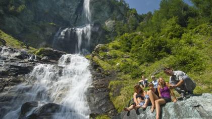 Am Jungfernsprung-Wasserfall