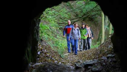 Eingang zum Felsentunnel Bundenbach