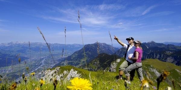 Angekommen auf dem Gipfel des Rappensteins