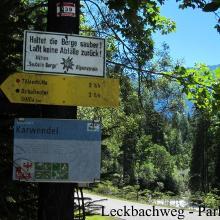 Parkplatz Leckbachweg