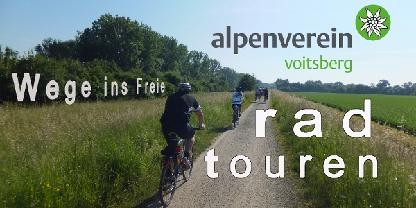 Radeln mit dem Alpenverein Voitsberg