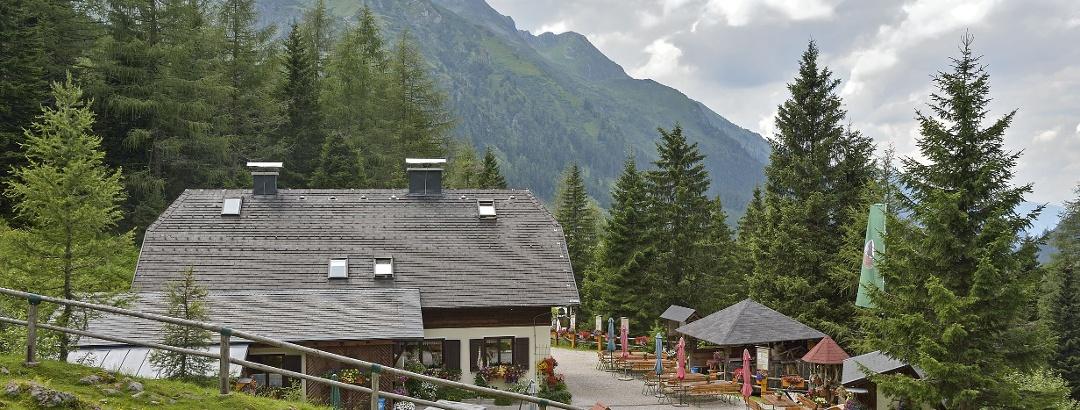 Die Erzherzog-Johann-Hütte