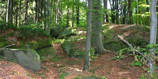 Steinformationen Eggern