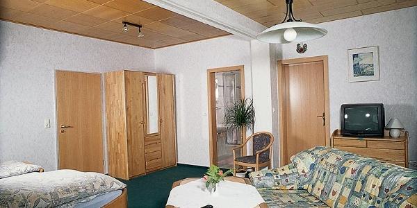 Zimmer im Gästehaus Steker