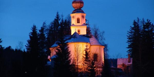 Peter Roseggers Lieblingskirche in St. Kathrein am Hauenstein