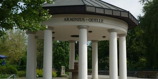Arminius Brunnentempel Bad Lippspringe