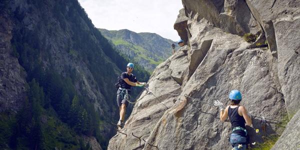 Klettersteig Aletsch