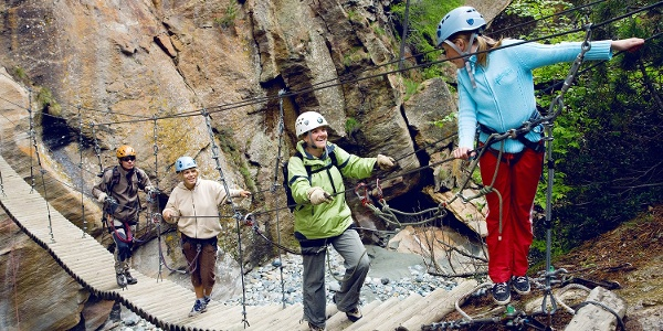Gorge-Alpine from Saas-Fee to Saas-Grund