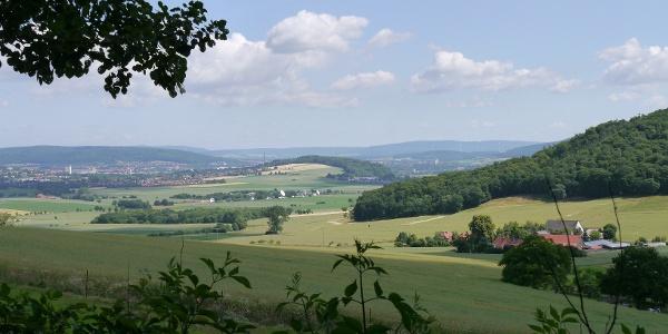 Ausblick Schwarze Bruch in Aerzen