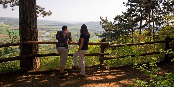 Wanderer am Ziegenberg