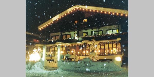 Cafe Restaurant Bettina im Winter