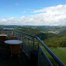 Panoramablick von der Malberghütte