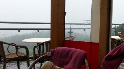 selbst im Regen gemütlich (Malberghütte)