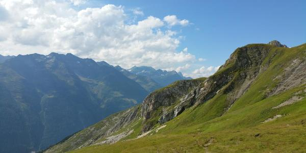 Ausblick über das Stanzer Tal