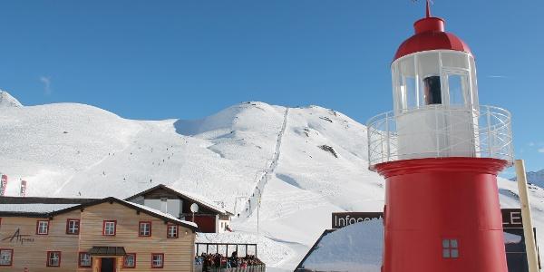 Leuchtturm mit Ustria Alpsu