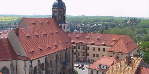 Kirche und Schloss Dippoldiswalde