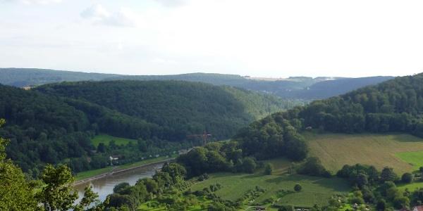 Aublick auf den Neckar