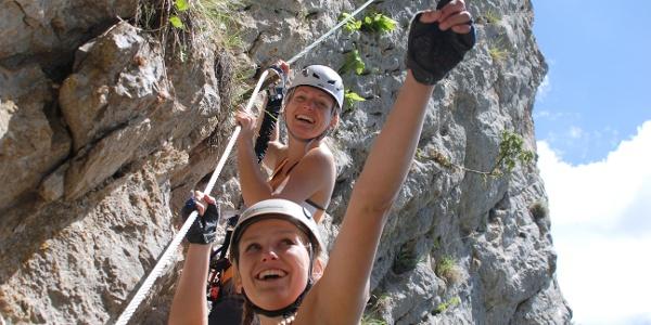Klettersteig Bürgeralm