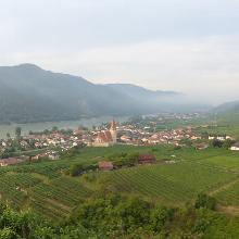 Panoramablick nach Weißenkirchen