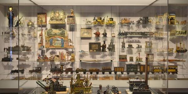 Ausstellungsvitrine - Spielzeugmuseum Sonneberg