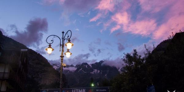 Start und Ende der Tour in Courmayeur